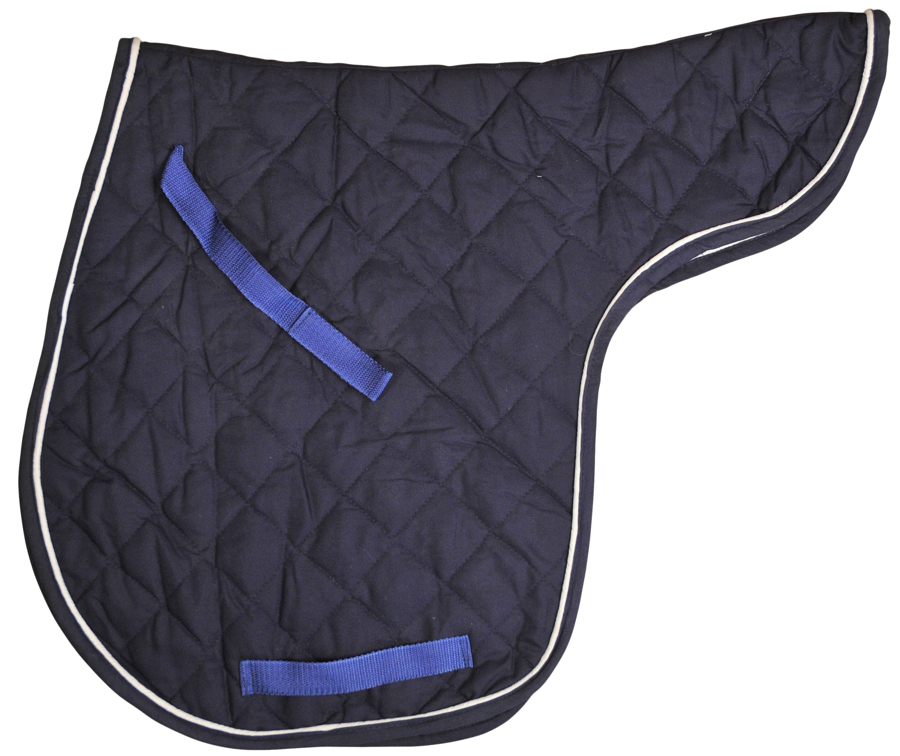 Gatsby Cotton Quilted Contour Saddle Pads