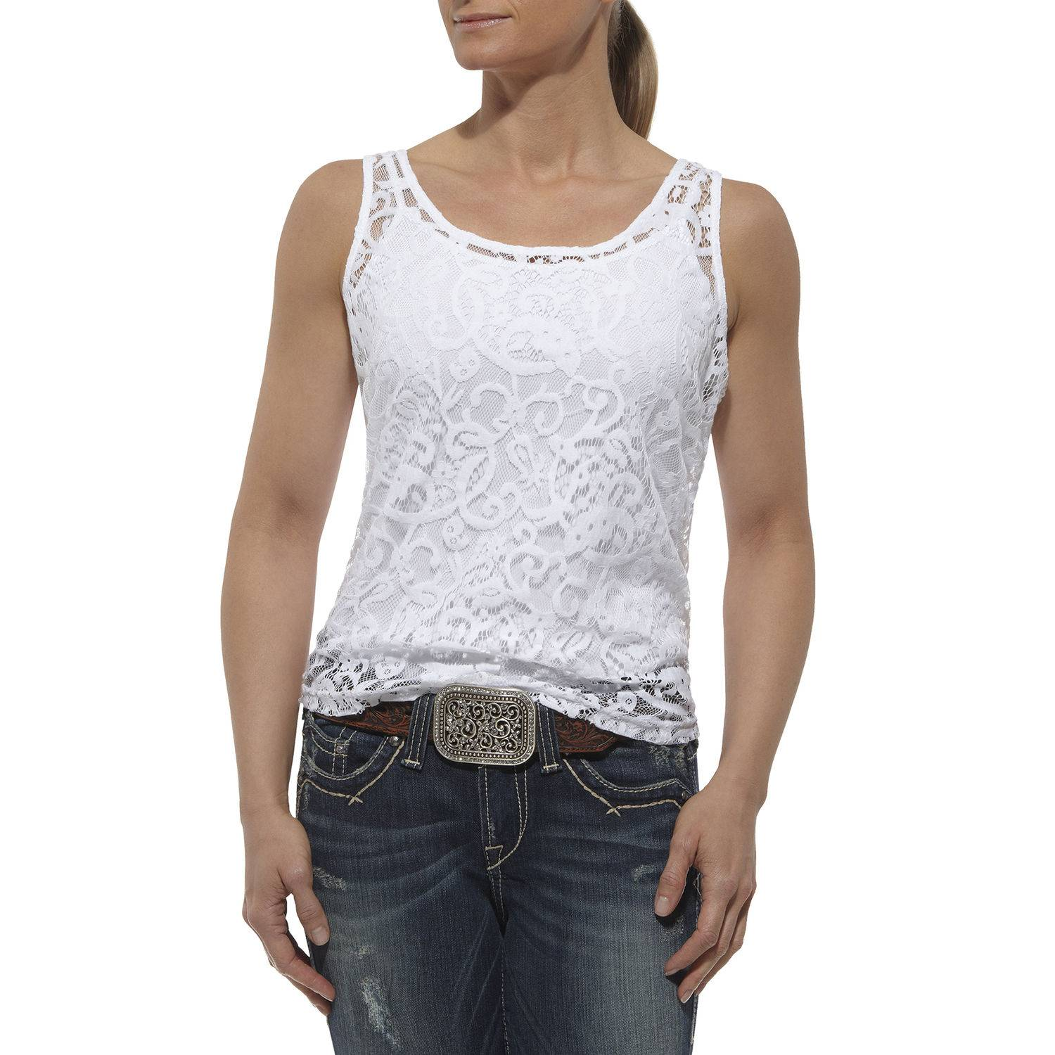 ARIAT Women's Lace Tank