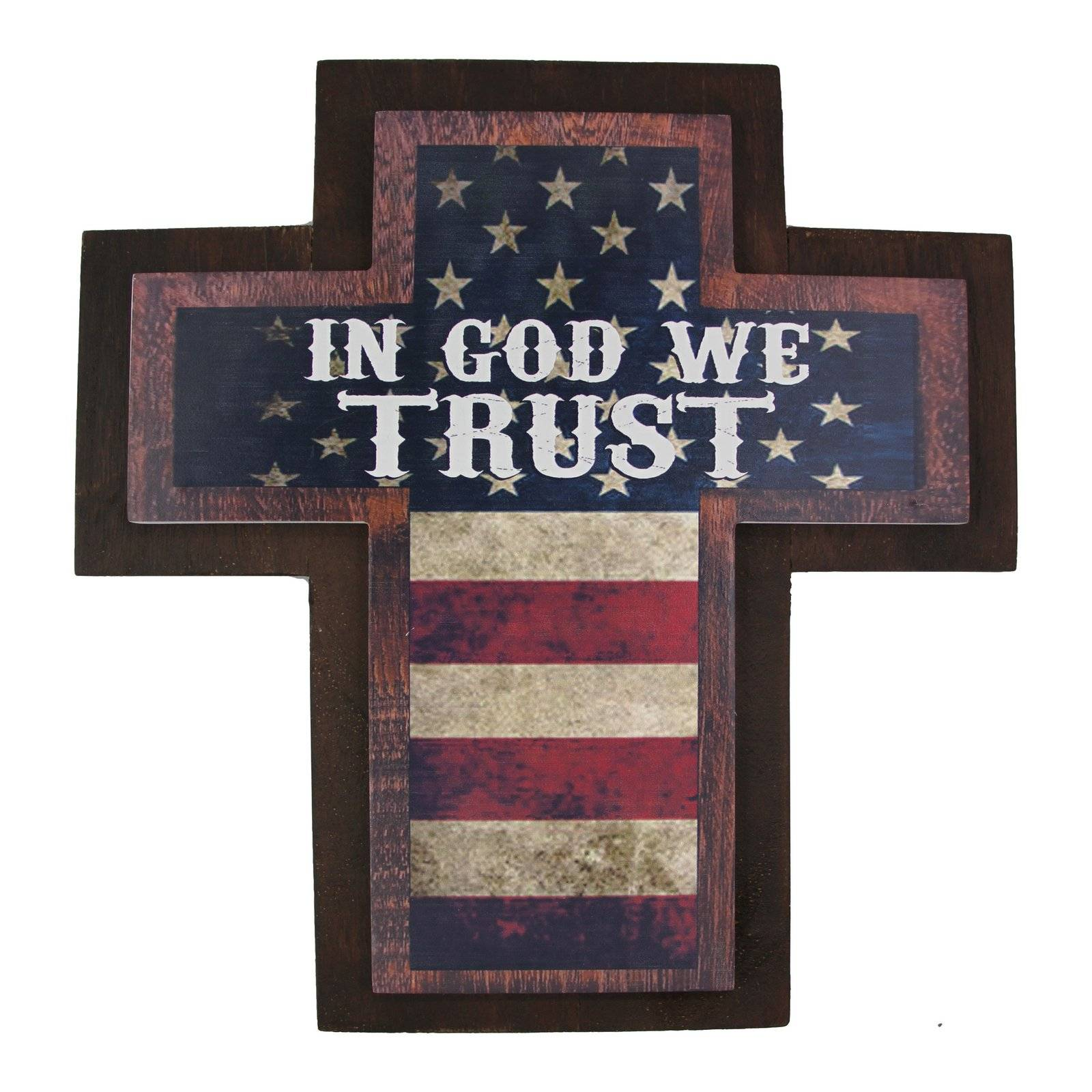 Montana Silversmiths In God We Trust Wood Sign