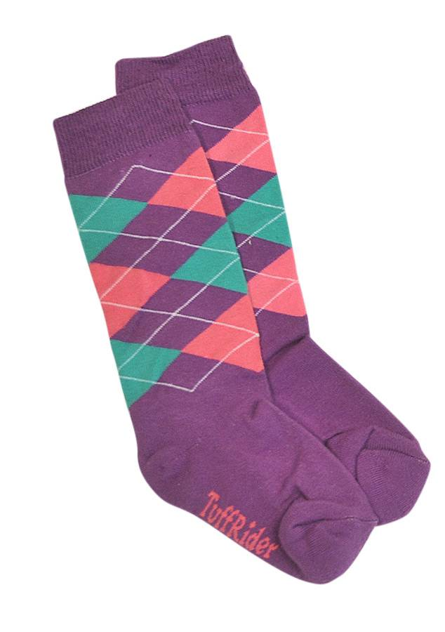 BRAND NAME Trio Argyle Socks