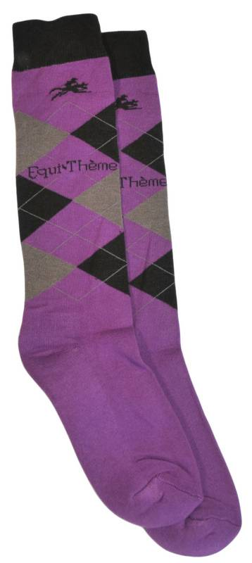 BRAND NAME Equine Argyle Socks