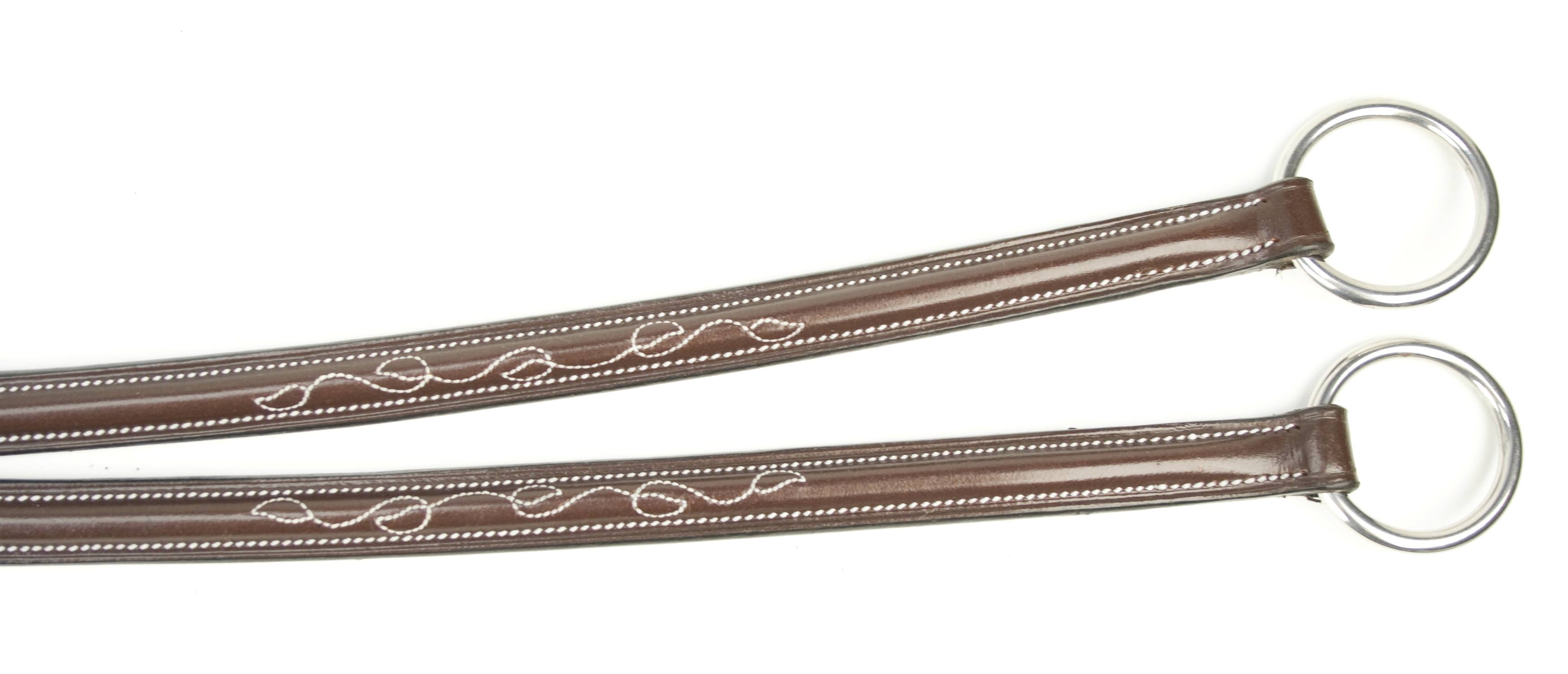 Toklat Silverleaf Fancy Square Raised Running Martingale
