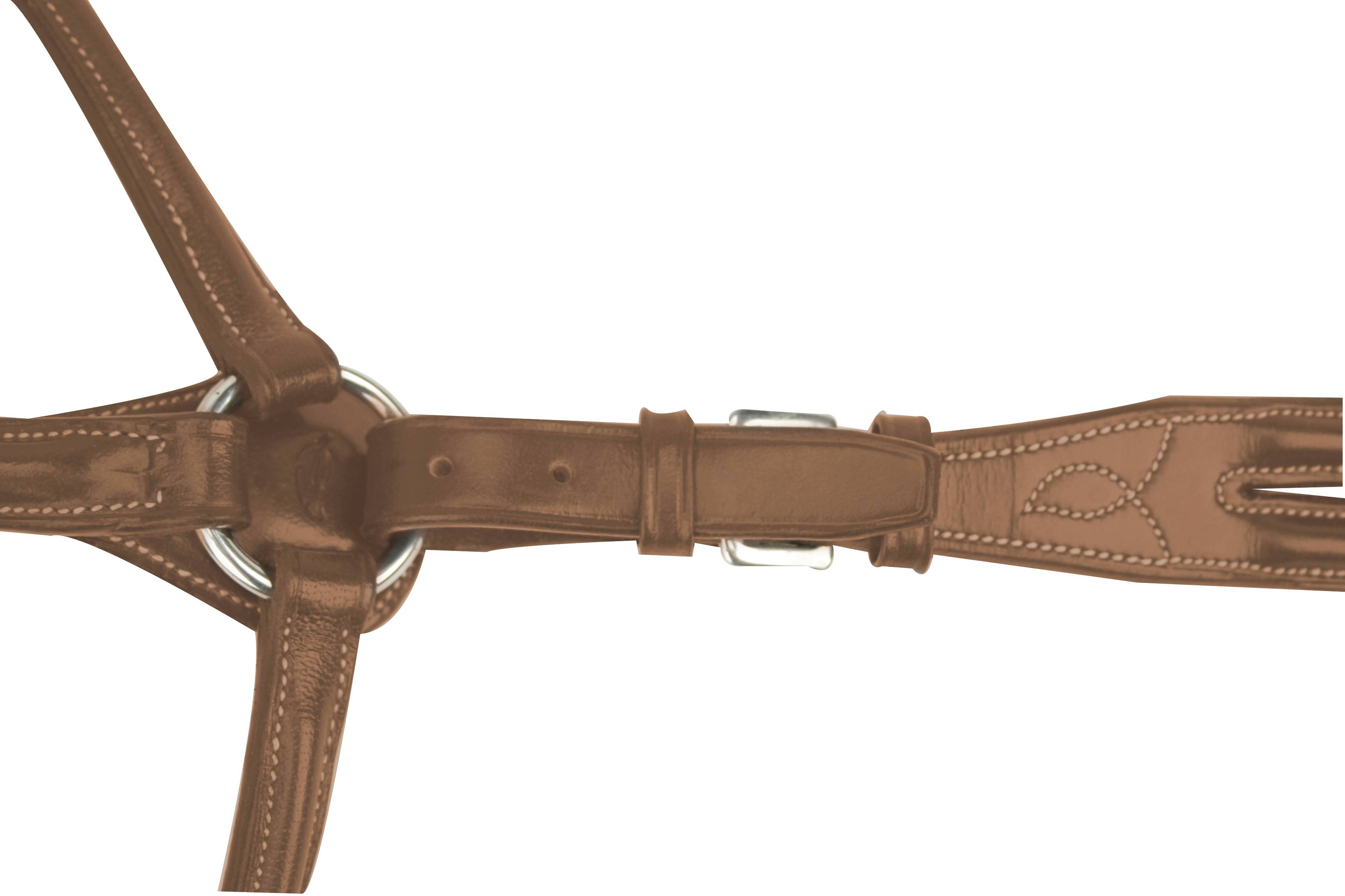 Toklat Silverleaf Plain Raised Breastplate With Standing Attachment
