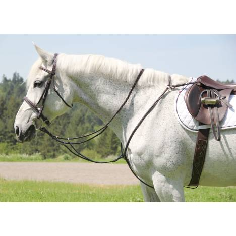 Toklat Silverleaf Square Raised Breastplate With Running Attachment