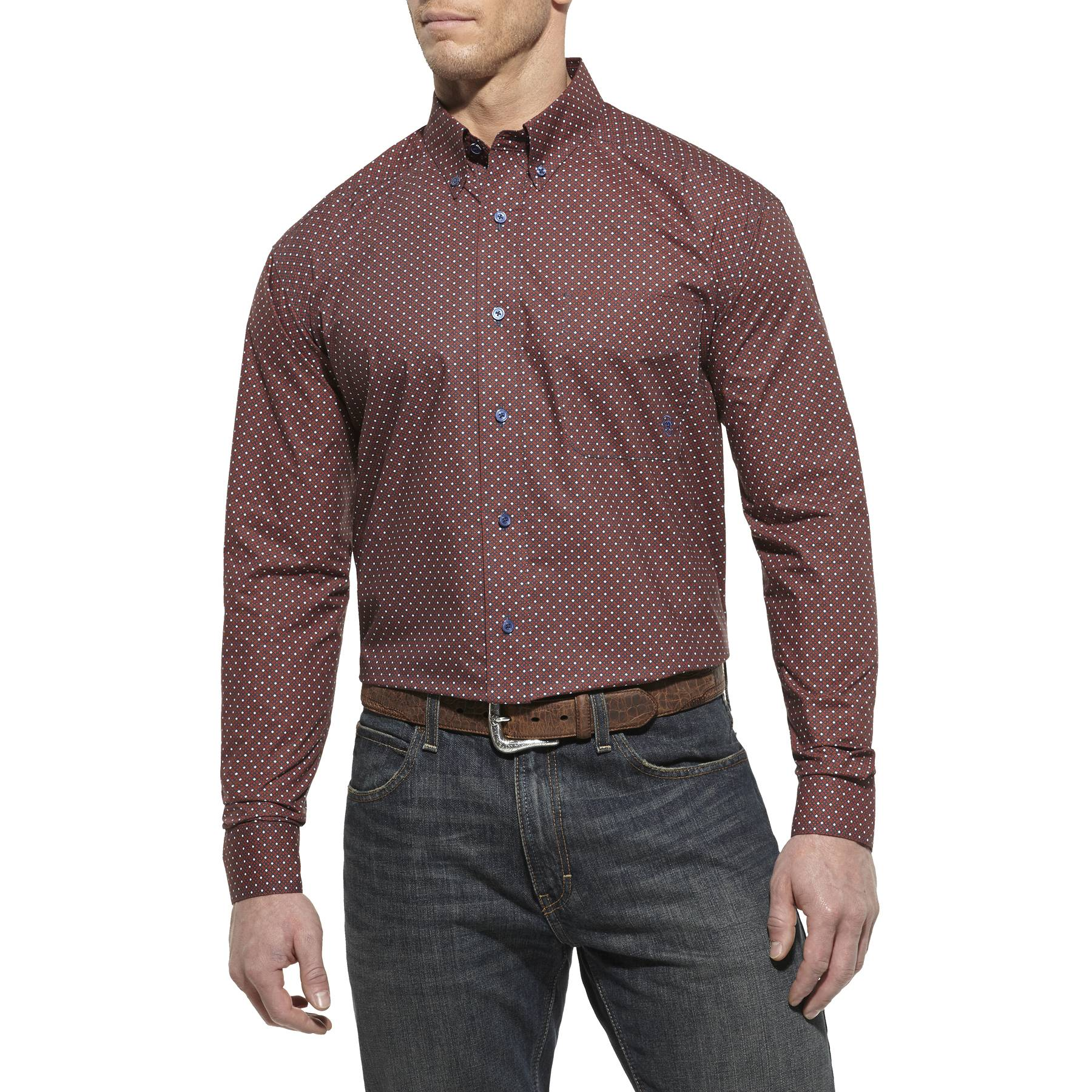 Ariat Men's Ellis Print Button Down Shirt