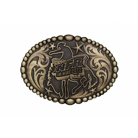 Montana Silversmiths NFR 2012 Belt Buckle