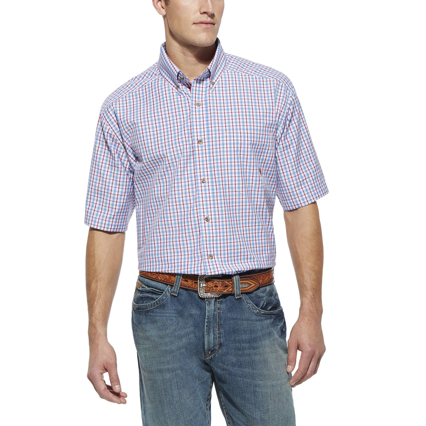 Ariat Men's Vaughan Performance Short Sleeve Shirt