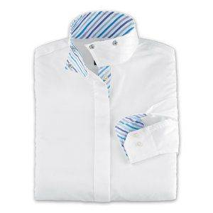 RJ Classics Ladies Sterling Wrap Collar Show Shirt