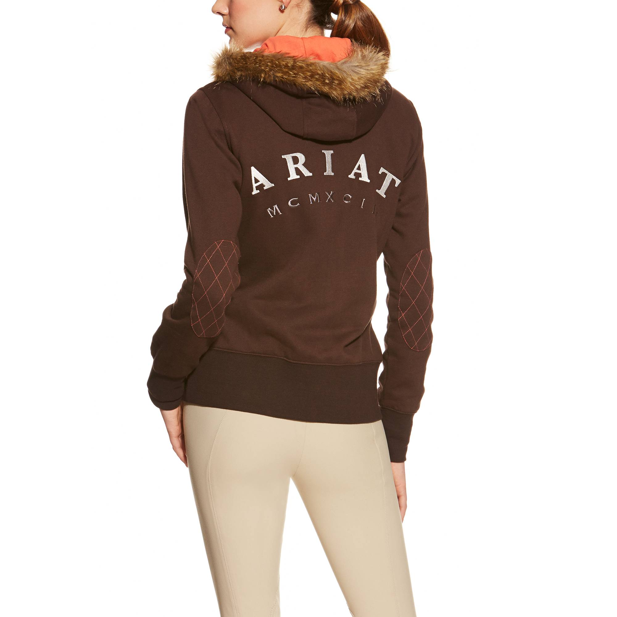 Ariat Ladies Pierce Full Zip - Ganache