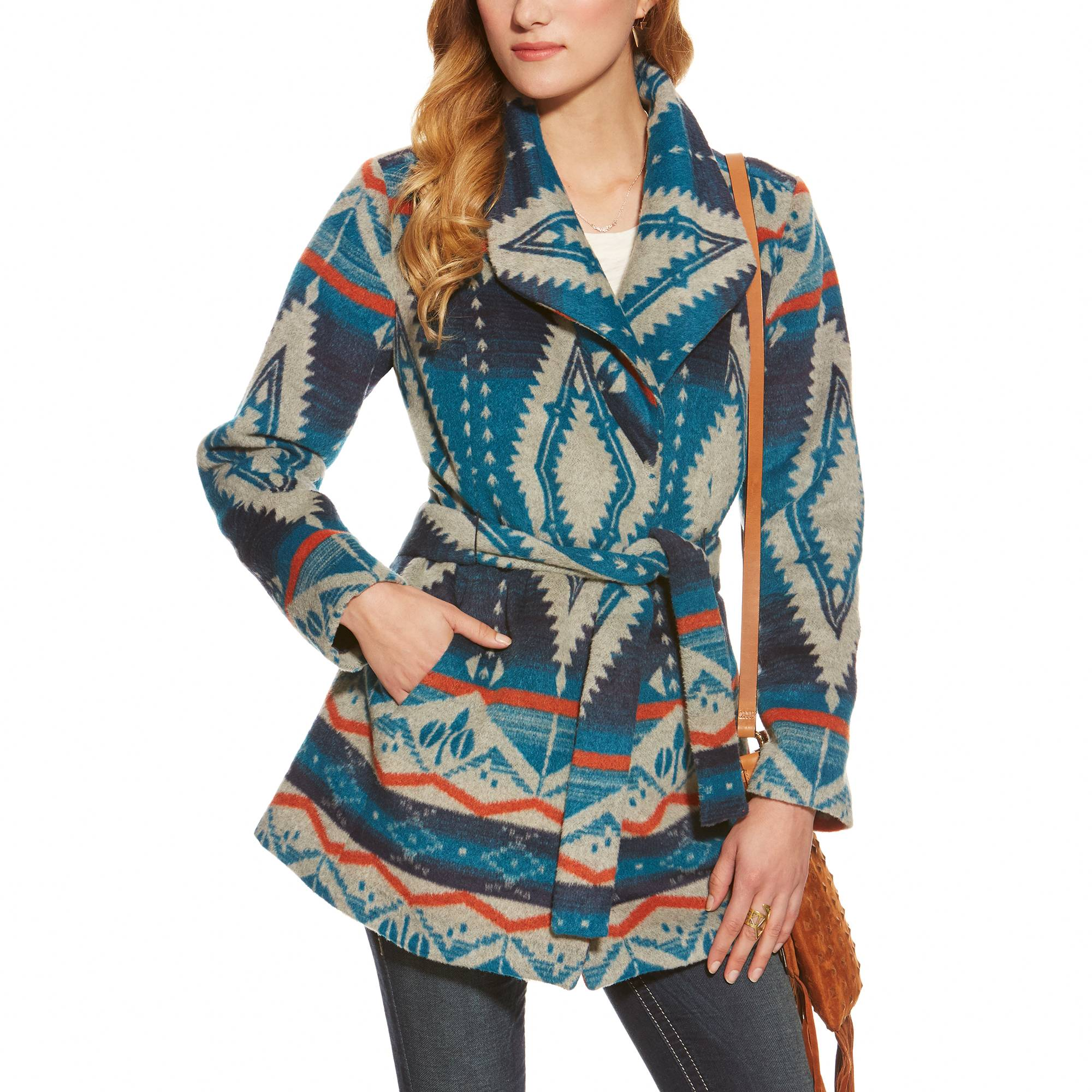 Ariat Ladies Calico Coat - Multi