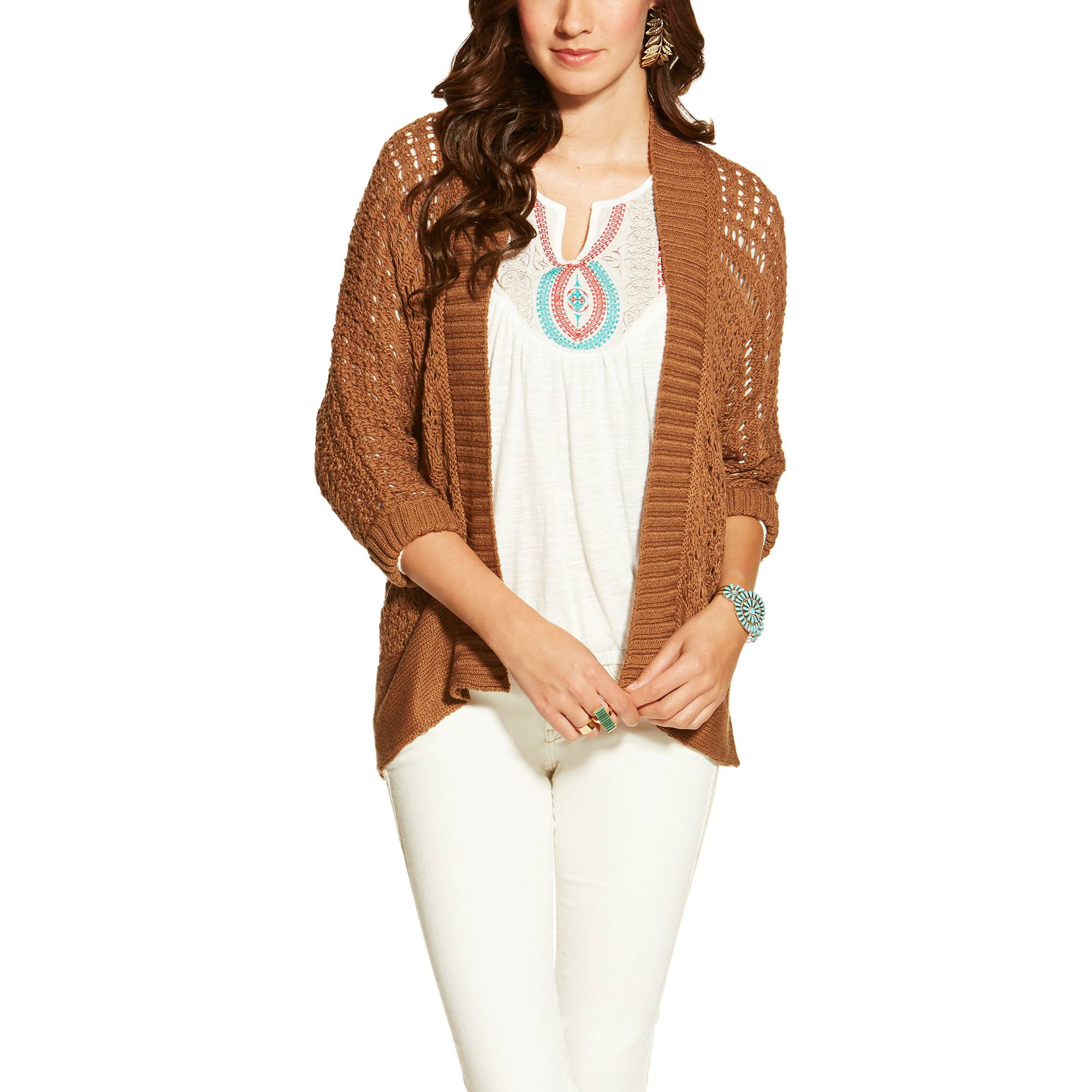 Ariat Ladies Burnham Sweater - Java