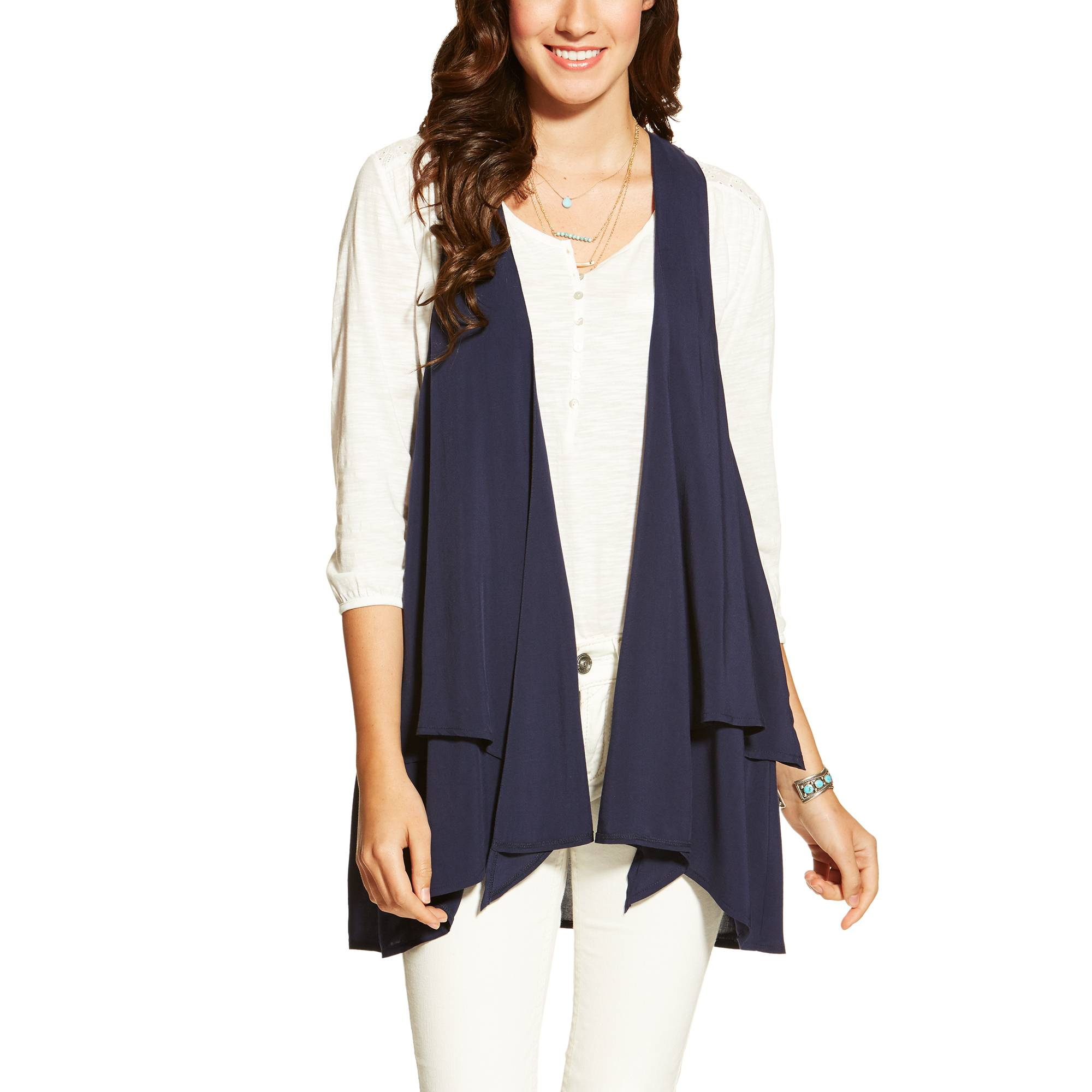 Ariat Ladies Ashe Vest - Peacoat