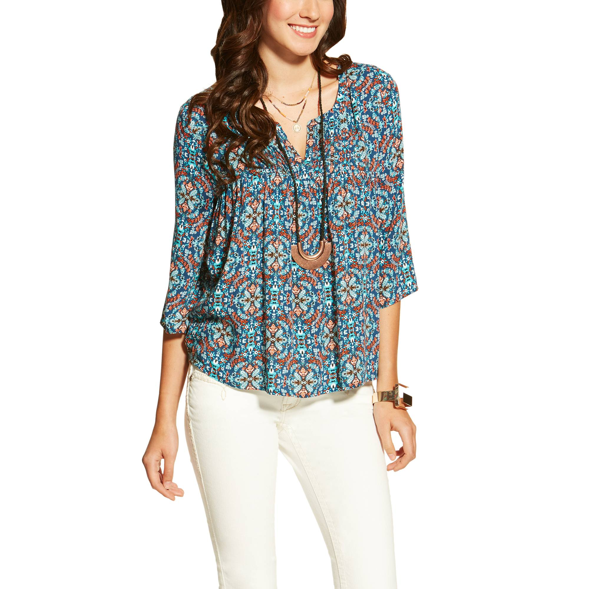 Ariat Ladies Bliss Top - Multi