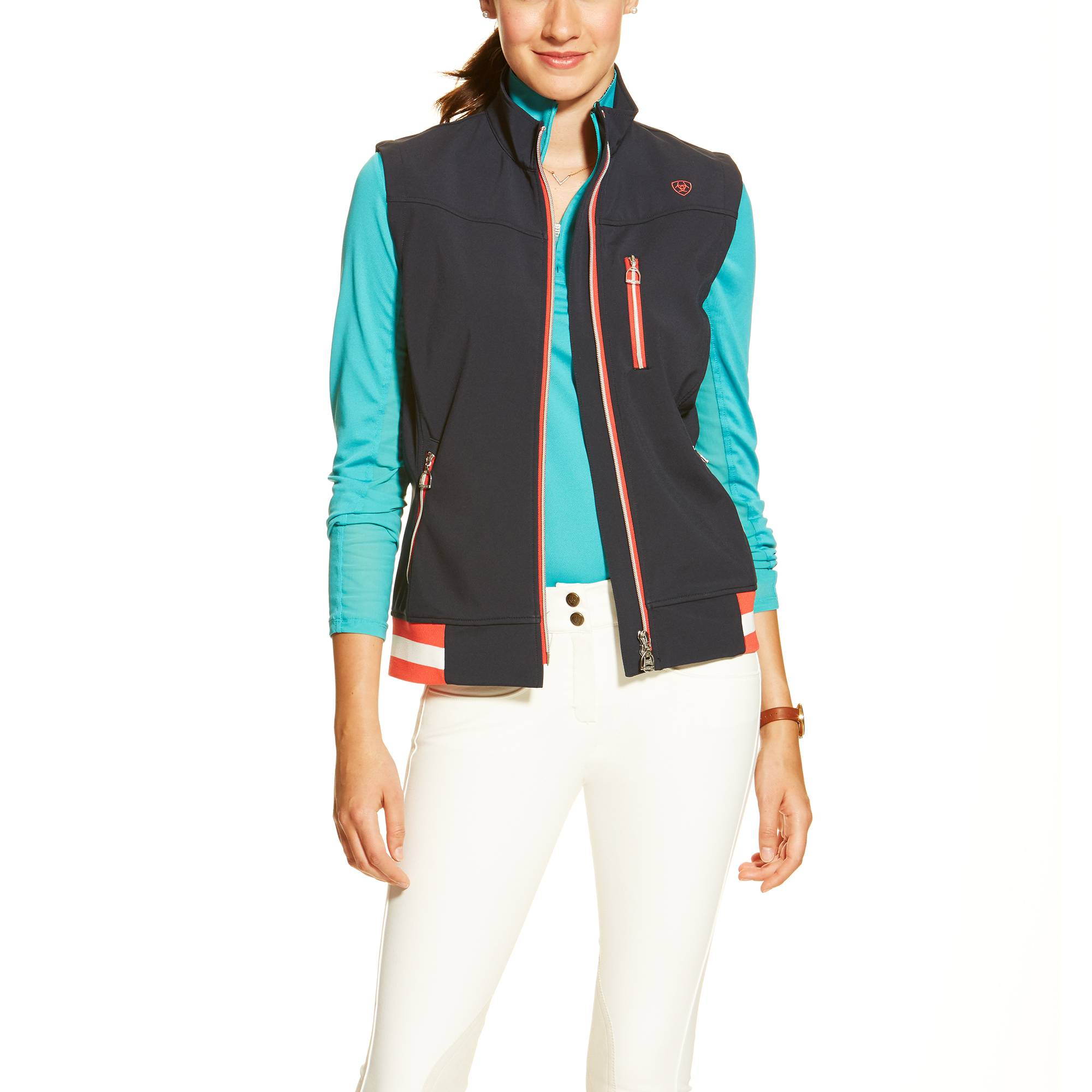 Ariat Ladies Egan Vest - Navy