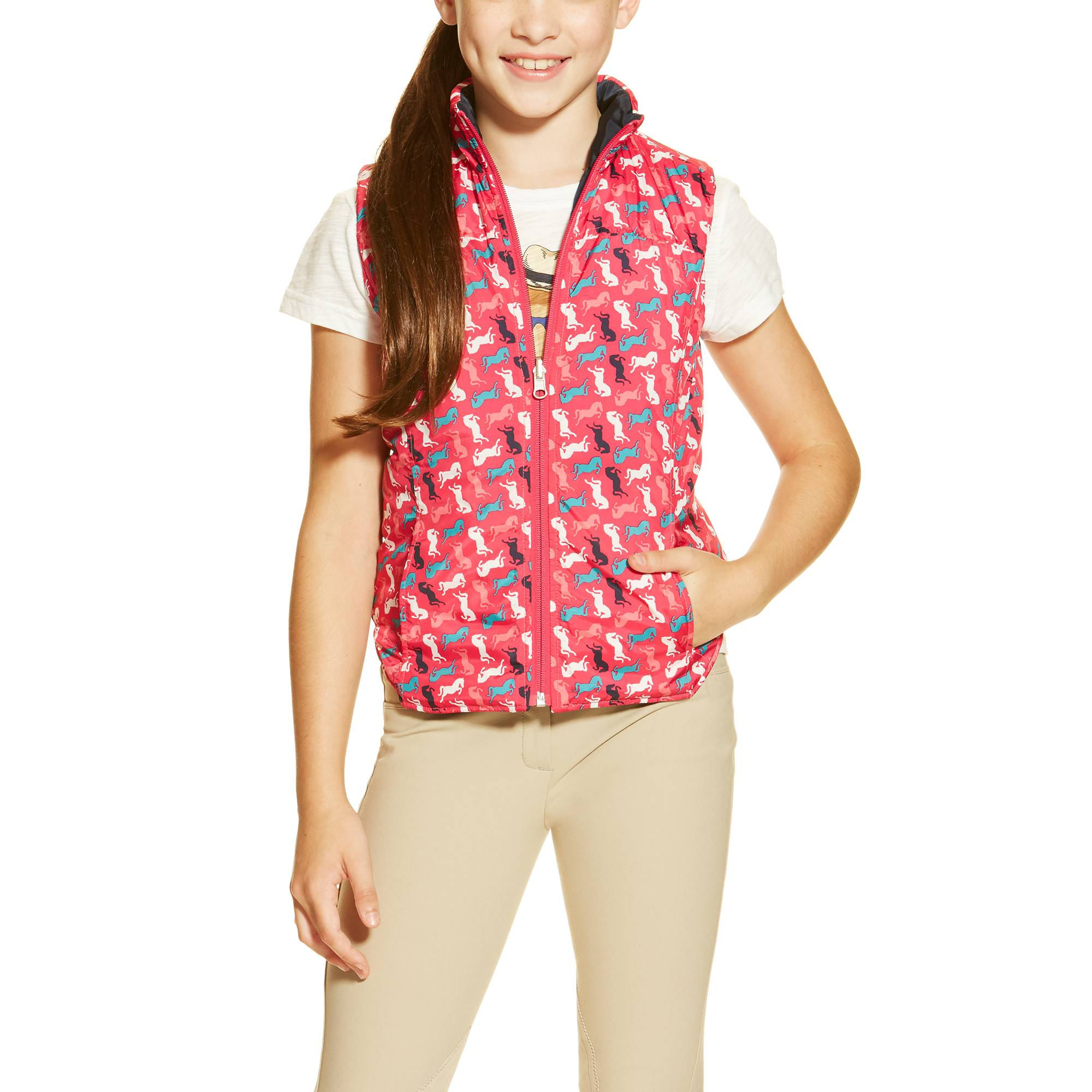 Ariat Girl's Emma Vest - Multi