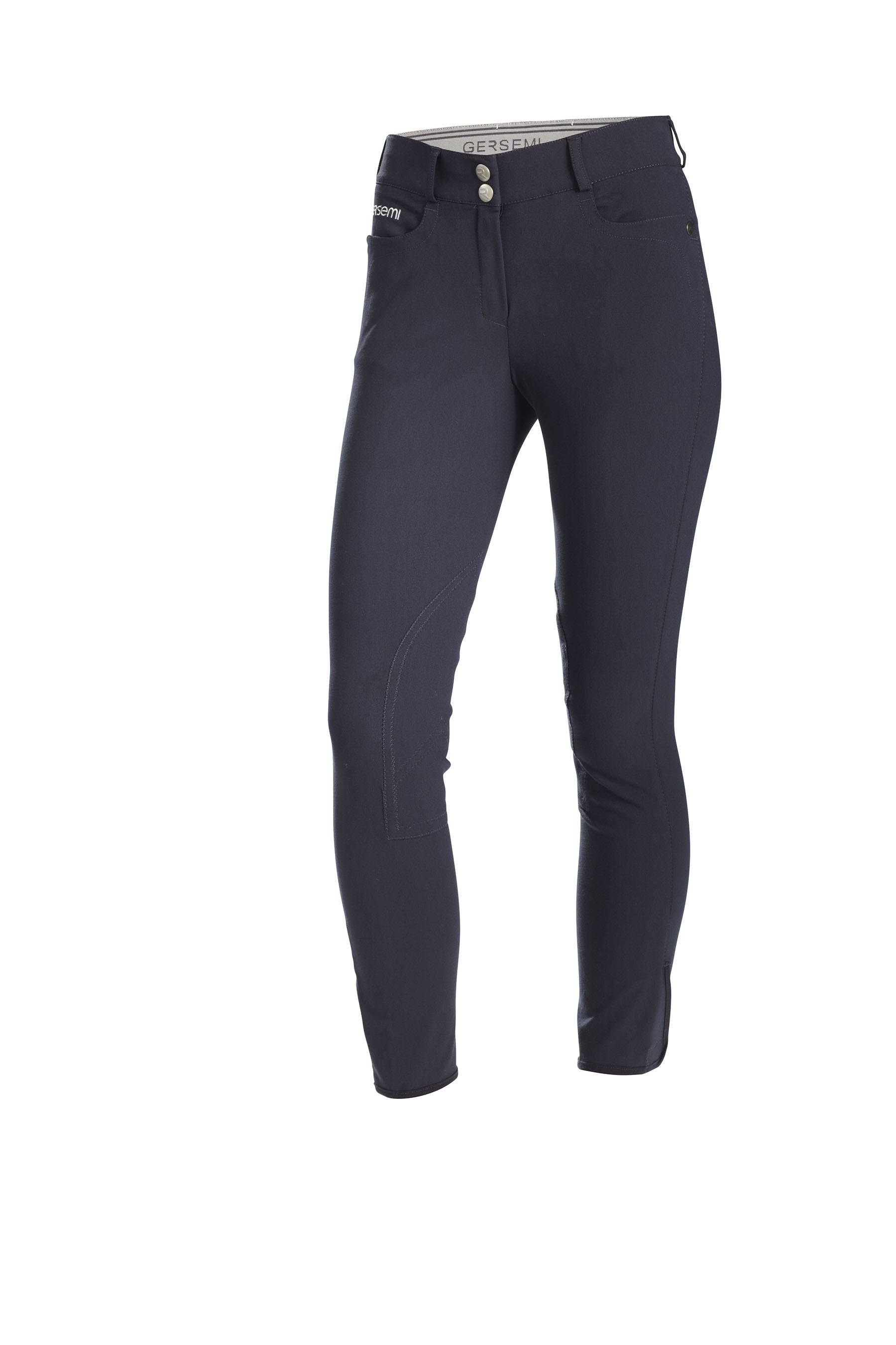 Gersemi Ladies Sigyn Knee Patch Breeches - Navy