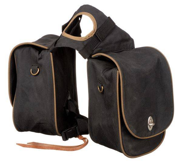 Oiled & Insulated Deluxe Trail Pommel Bag
