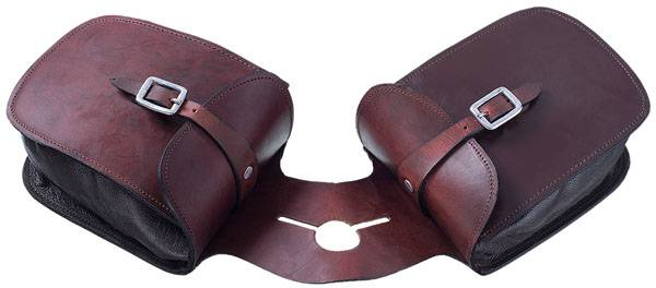 Tough-1 Leather Pommel Bag