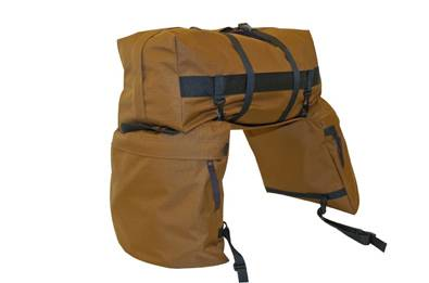 Lami-Cell Large Saddle Bags with Detachable Cantle