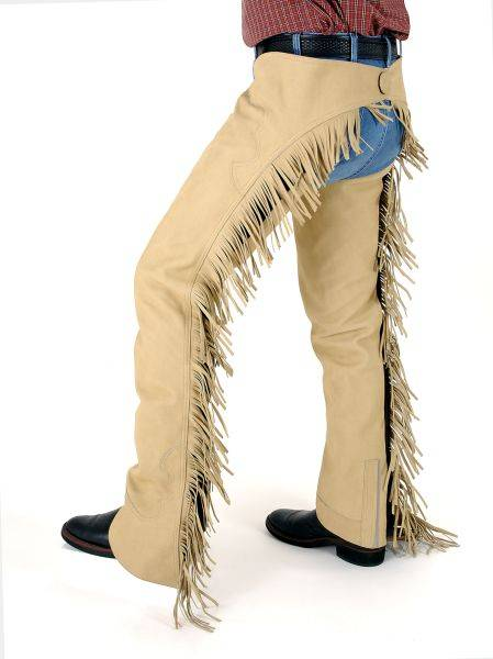 Tough-1 Luxury Suede Chaps