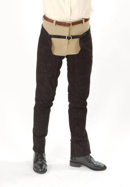 Tough-1 Suede Leather Schooling Chaps