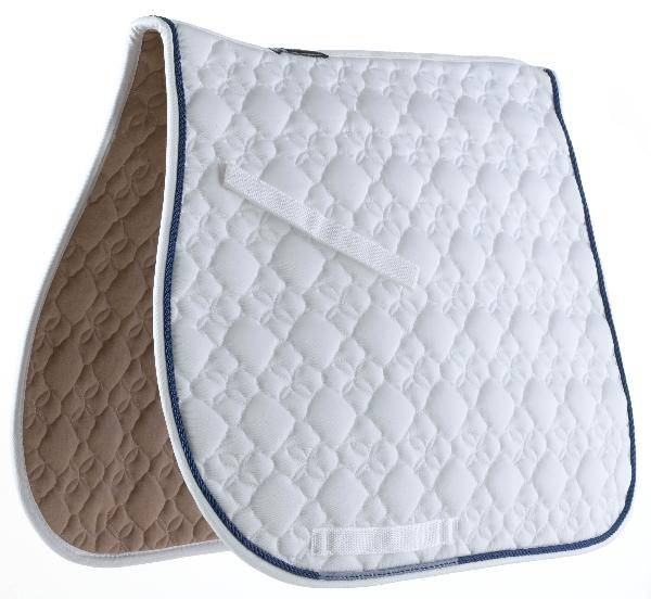 Roma Ecole Flower Diamond All Purpose Saddle Pad