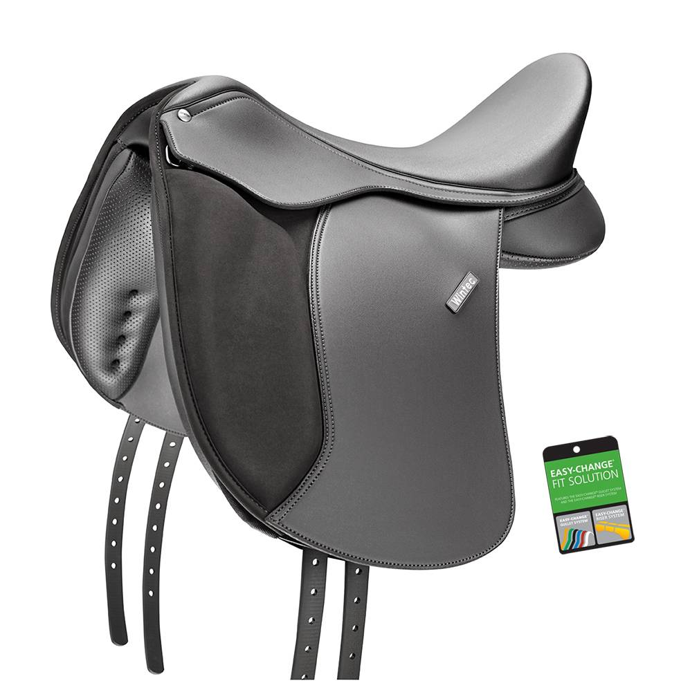 Wintec 500 Flocked Dressage Pony Saddle