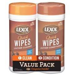 Lexol Quick Wipes Cleaner & Conditioner Value Pack