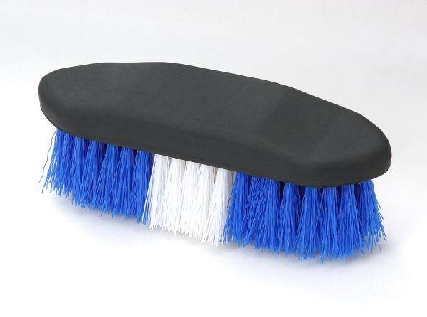 Tough-1 Rubber Grip Poly Bristle Brush