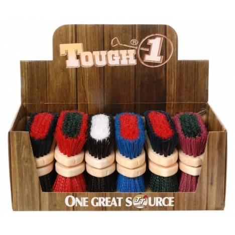 12 Pack Assorted Medium Poly Bristle Brush