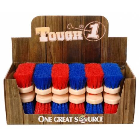 12 Pack Jr Size Medium Poly Bristle Brush Display