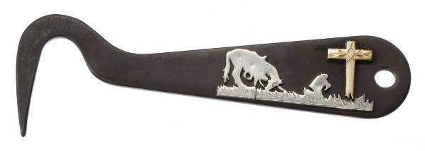 Tough-1 Antique Hoof Pick/Cowboy Prayer