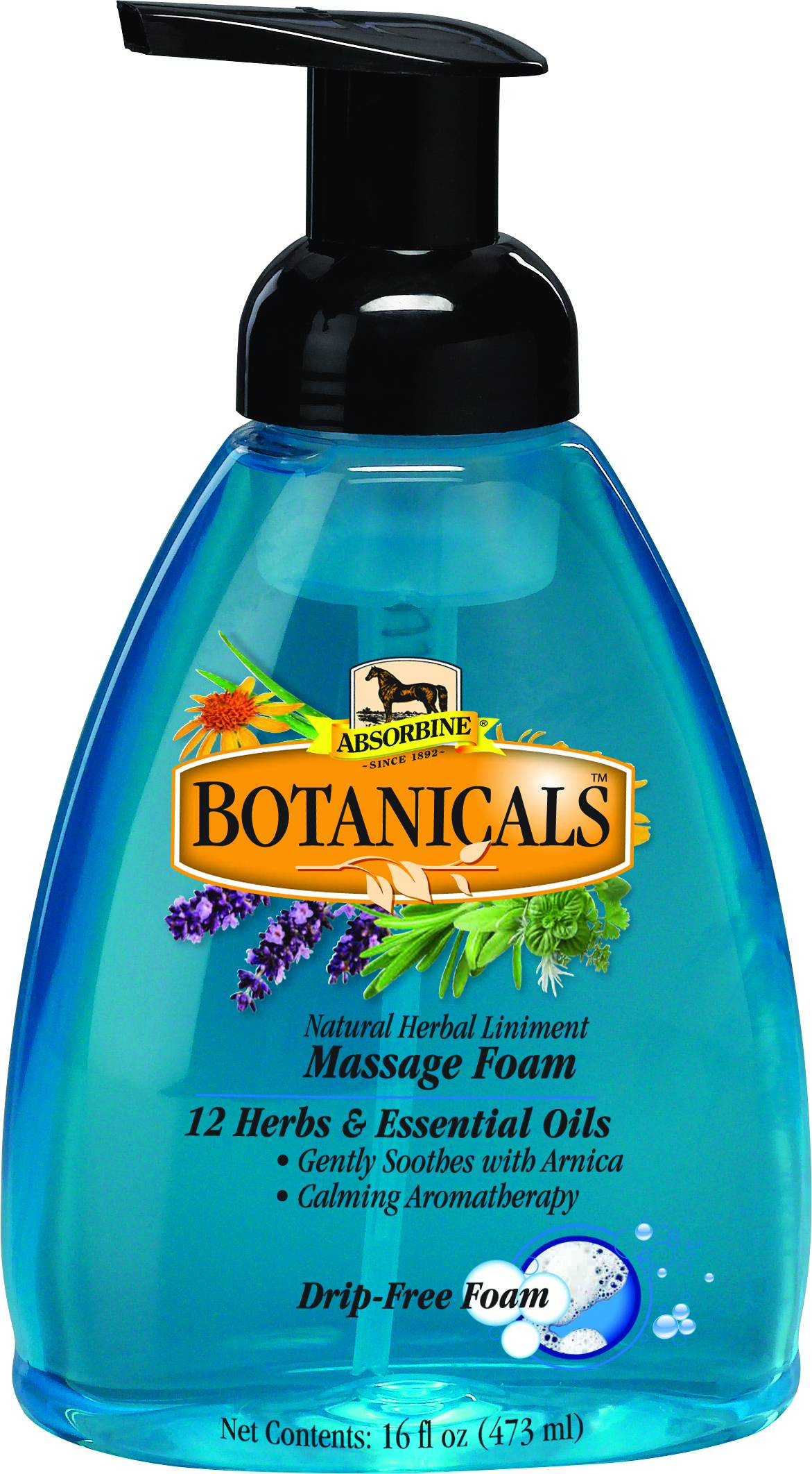 Absorbine Botanicals Massage Foam