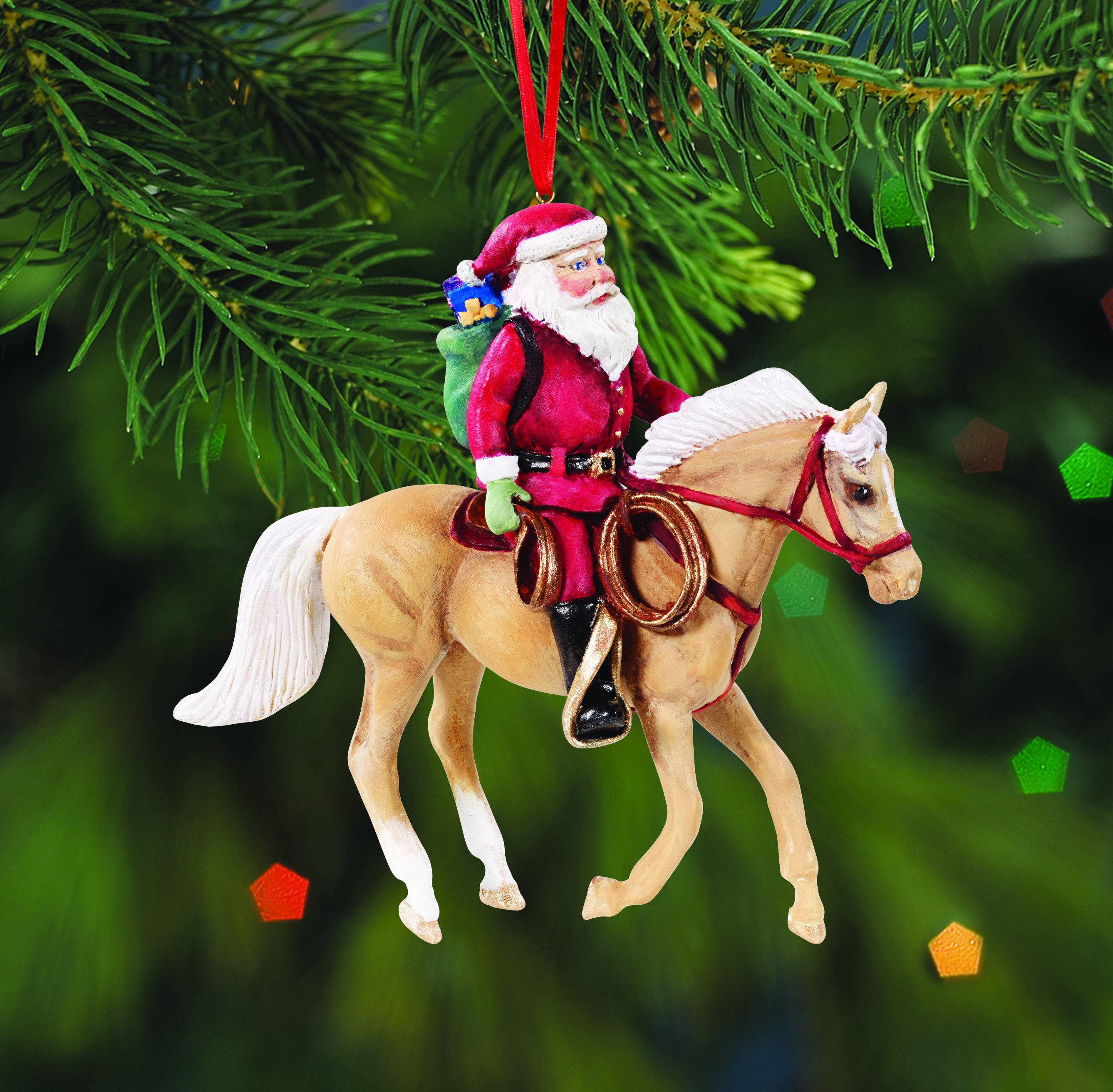 Breyer Special Delivery Cowpony Ornament