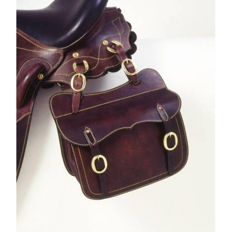Australian Outrider Collection Leather Saddle Pocket