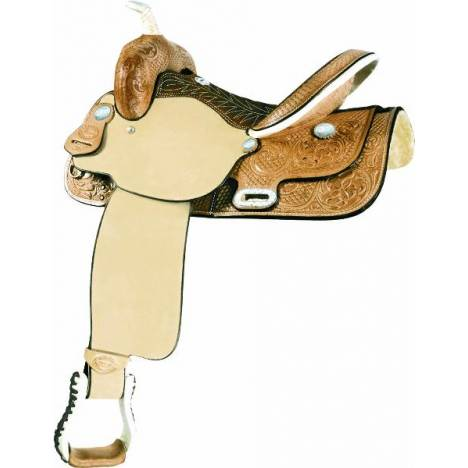 Billy Cook Saddlery Time Breaker Barrel Saddle