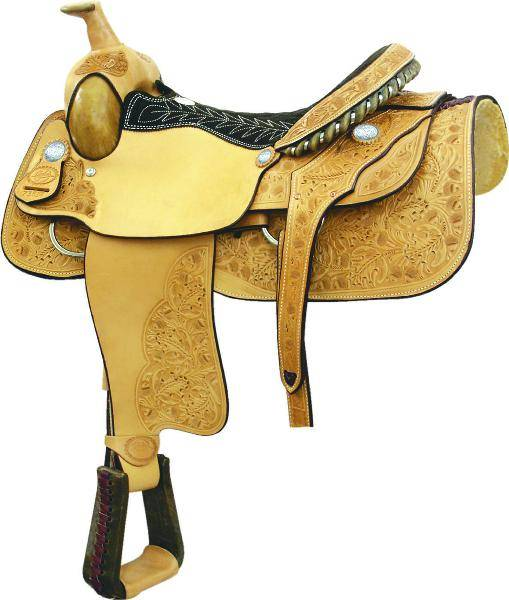 Longhorn Matt Tyler Roper Saddle