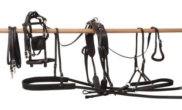 Tracker Leather Pony Harness