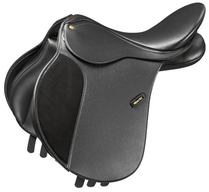Wintec 250 Flocked All-Purpose Saddle
