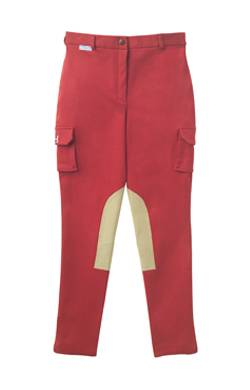 High Line Outfitters Girls' Cargo Breeches