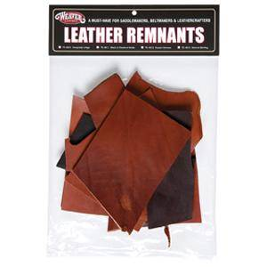 Weaver Leather Remnant Bags - Bridle Leather