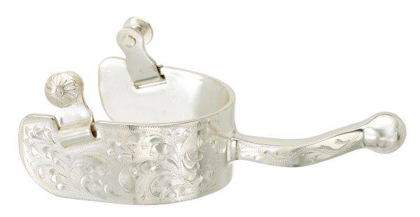 Kelly Silver Star Plated Prestige Show Spurs