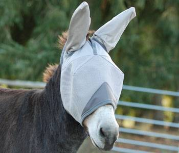Crusader Fly Mask - Mule Standard with Ears