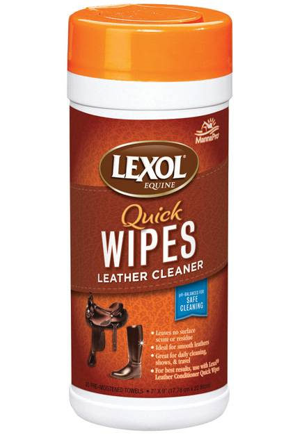 Manna Pro Lexol Quick Wipes Leather Cleaner