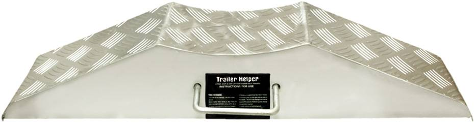Diamond Plated Steel Trailer Helper