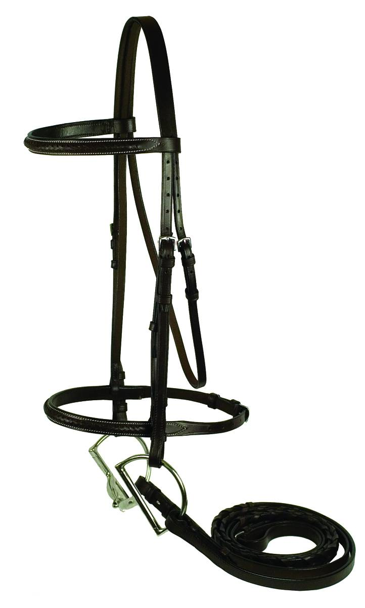 Gatsby Braided Raised Bridle