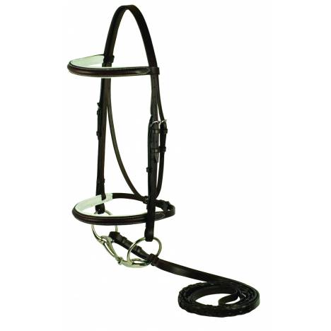 Gatsby Plain Raised Padded Bridle