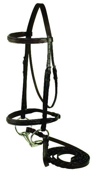 Gatsby Double Raised Bridle