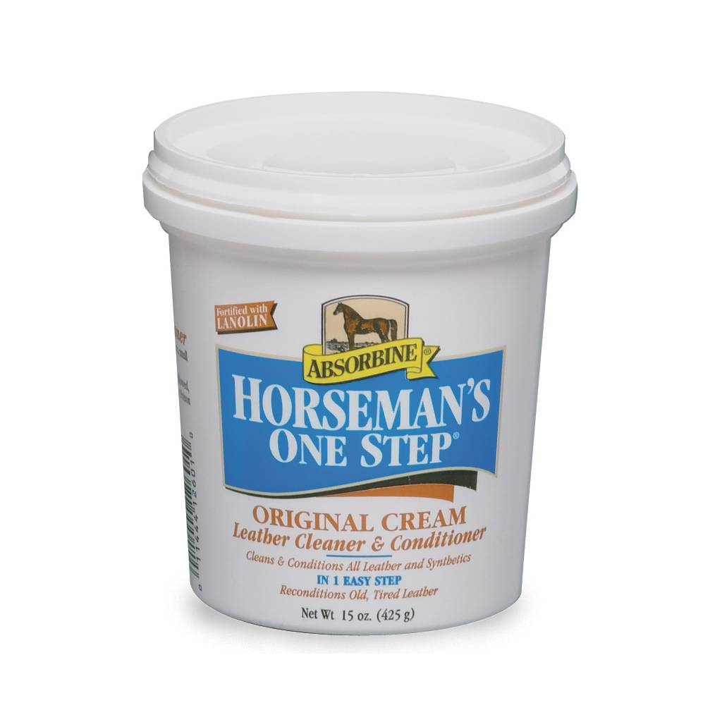 Absorbine Horseman's One Step Leather Cleaner and Conditioner