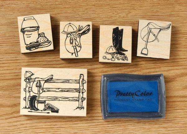 Gift Corral English Stamp Set